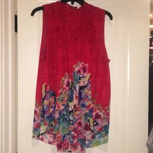 Anthropologie top worn 3 times.....sz L